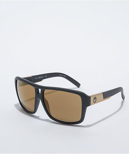 Dragon The Jam Matte Black & Copper Ion Sunglasses