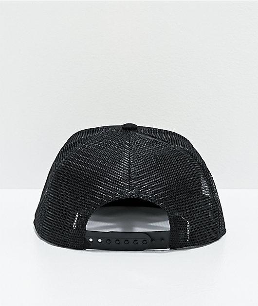 Dravus Adventure Patch Black Trucker Hat