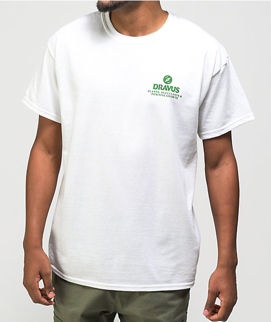 Dravus Deep Breaths White T-Shirt