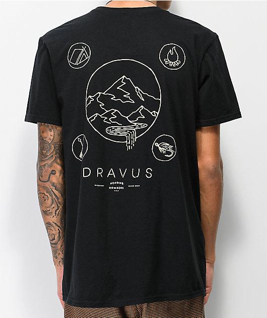 Dravus Elements Black T-Shirt