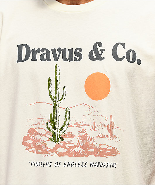 Dravus Endless Wander Natural T-Shirt