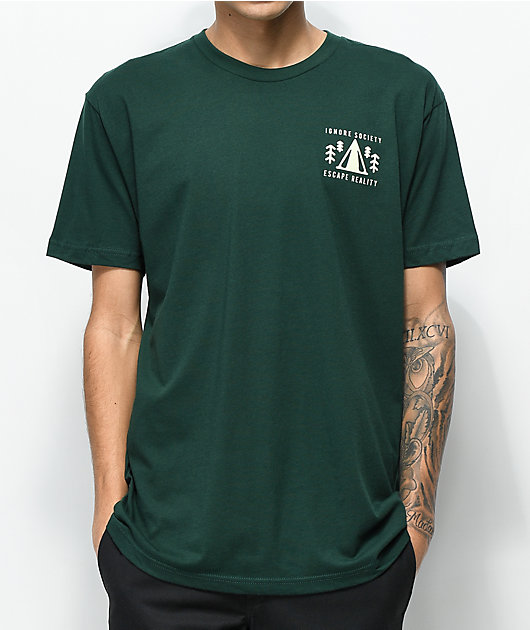 Dravus Escape Reality camiseta verde