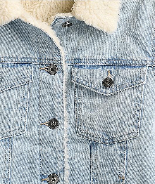 Dravus Gemma Sherpa Denim Jacket