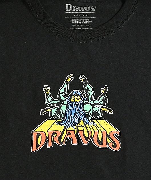 Dravus Guru Vibes Black T-Shirt
