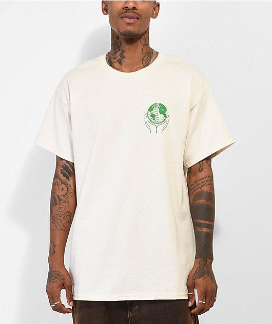 Dravus Hands Together Cream T-Shirt