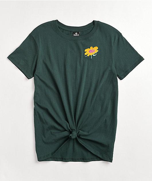 Dravus Joane Heading Nowhere Green T-Shirt