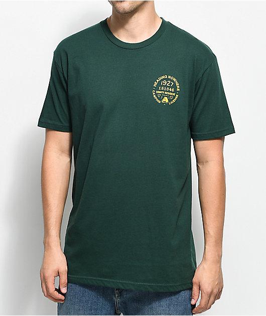 Dravus Misguided Grounds camiseta verde