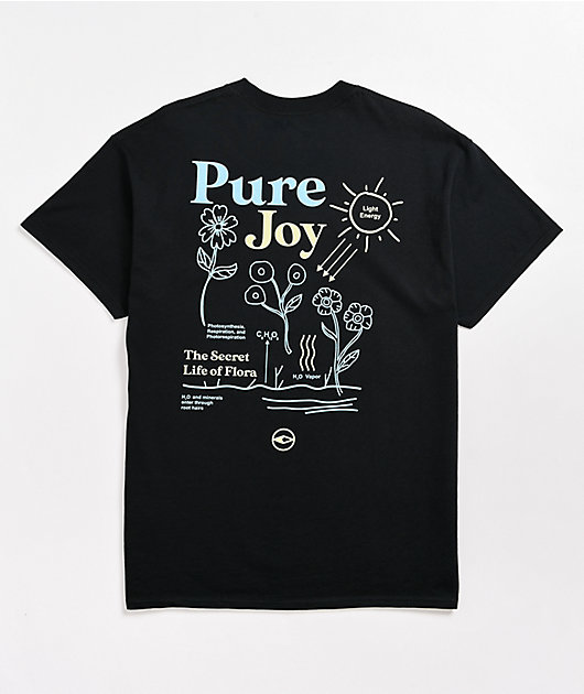Dravus Photosynthesis Black T-Shirt
