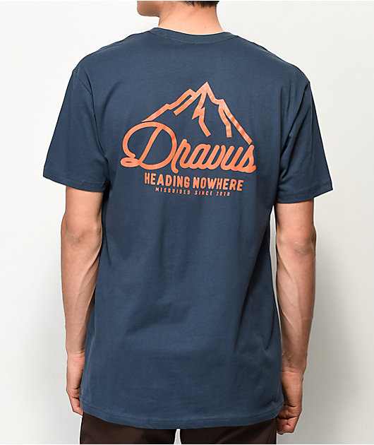 Dravus Pinnacle Indigo T-Shirt