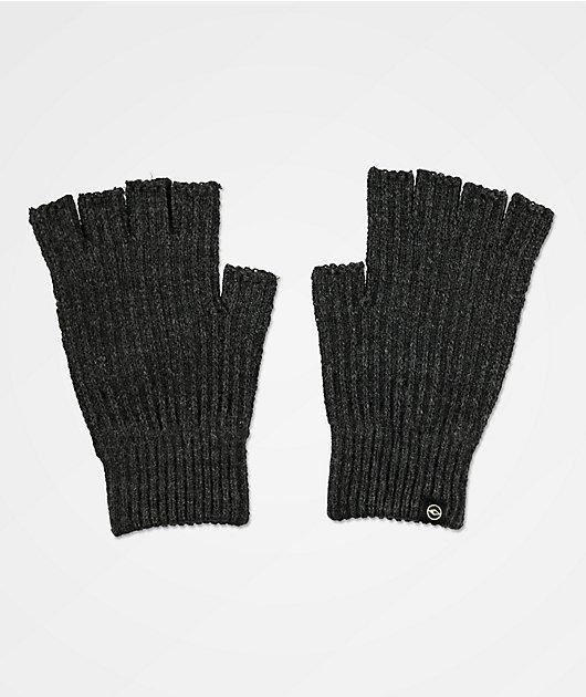 Dravus Ribless guantes sin dedos grises