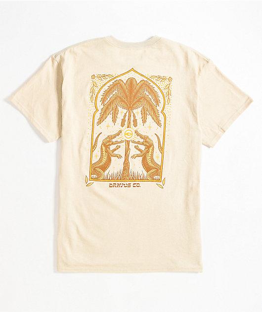 Dravus Temple Of Nature Cream T-Shirt