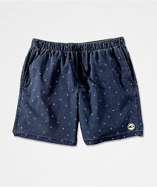 Dravus Terrapin Navy Board Shorts