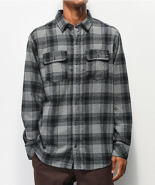 Dravus Travis Grey Flannel Shirt