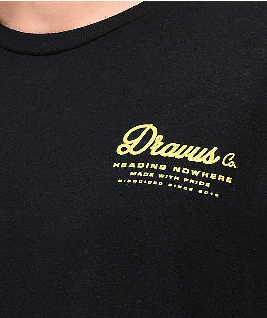 Dravus Wicked Summer Black T-Shirt