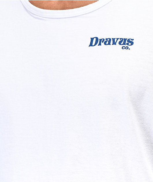 Dravus Worcation White Tank Top