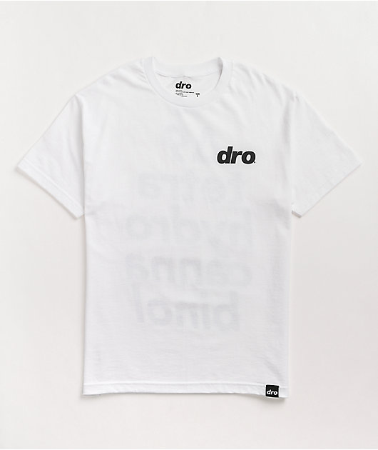 Dro Delta 9 White T-Shirt