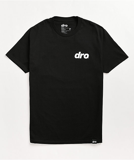 Dro Save Our Planet Black T-Shirt