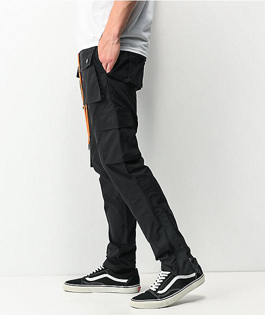 EPTM Snap Black Cargo Pants