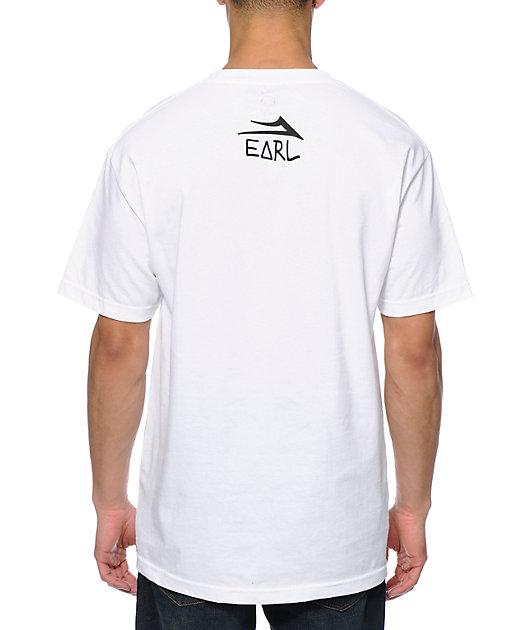 Earl Sweatshirt x Lakai Pockethead White Pocket T-Shirt