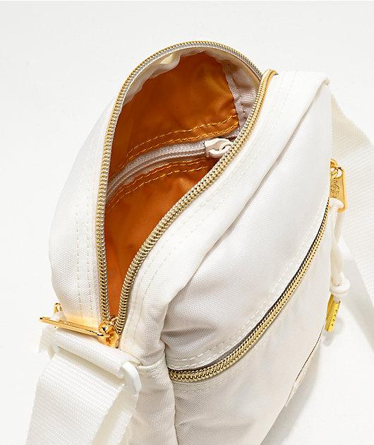 Eastpak The One Gold & White Shoulder Bag