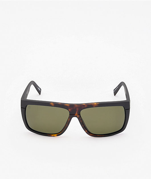 Electric Black Top Tobacco Tort Burst Polarized Sunglasses