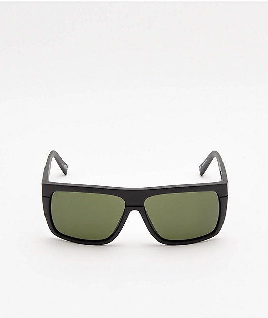 Electric Black Top gafas de sol en negro mate y gris