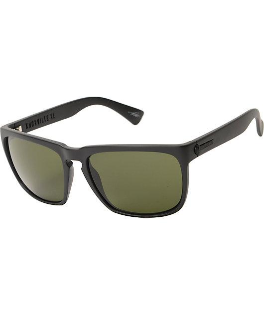 Electric Knoxville XL Matte Black & Grey Sunglasses