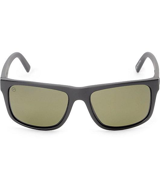 Electric Swingarm XL Matte Black & Grey Polarized Sunglasses