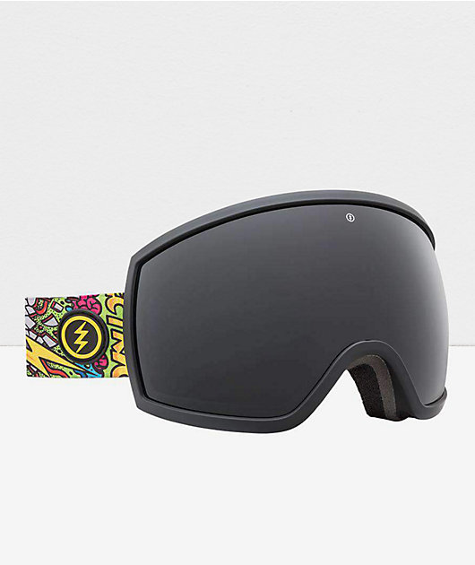 Electric x Jimbo Phillips EGG Jet Black Snowboard Goggles