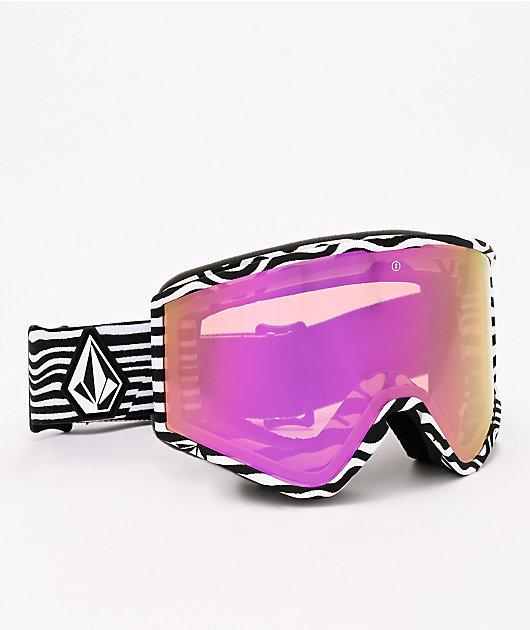 Electric x Volcom Kleveland Black & White Snowboard Goggles