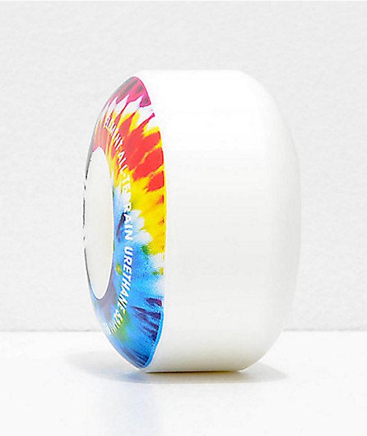 Element 52mm 99a Tie Dye Skateboard Wheels