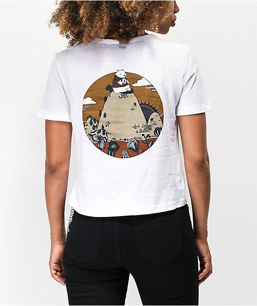 Element Bearly camiseta corta blanca