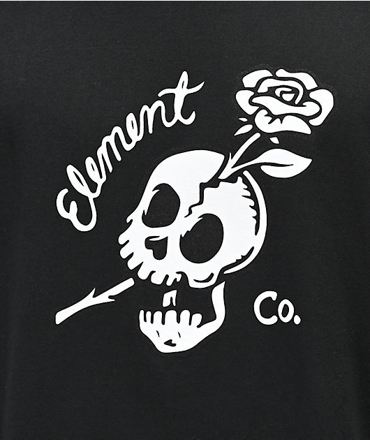 Element Break Free Black T-Shirt