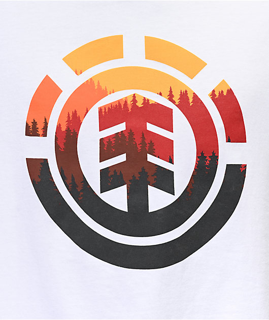 Element Glimpse Icon White T-Shirt