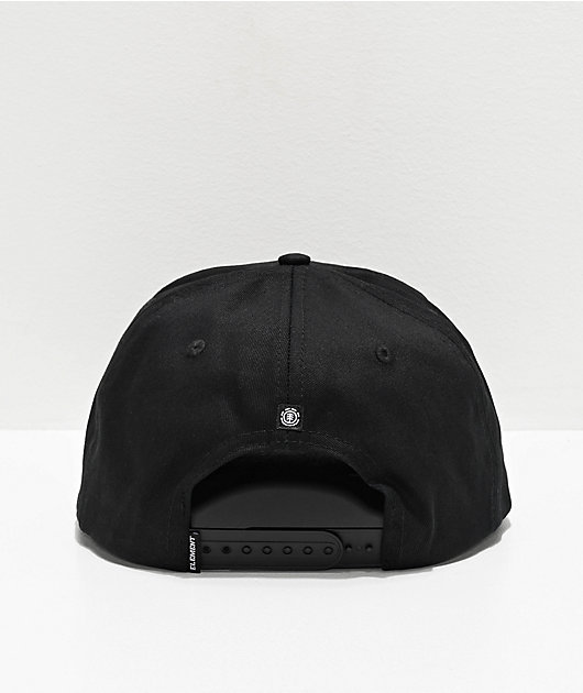 Element Knutsen All Black Snapback Hat