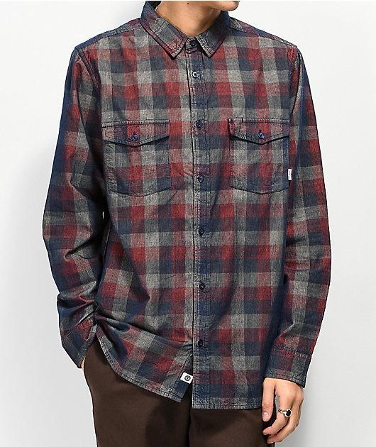 Element Tacoma Corduroy Flannel Shirt