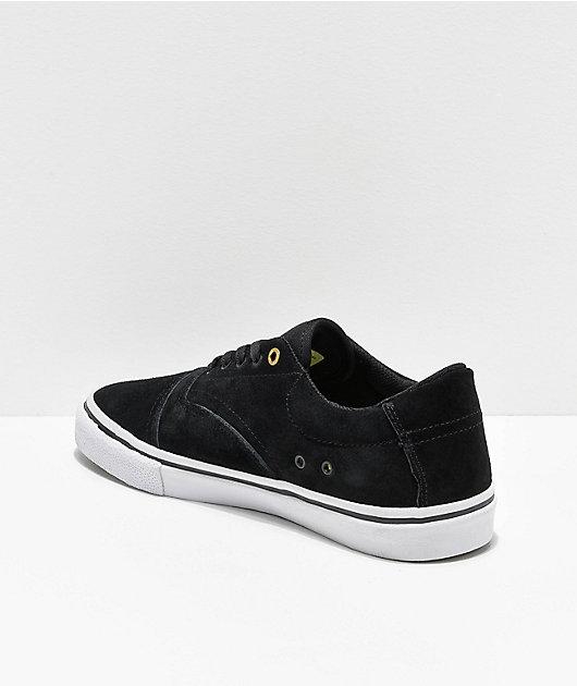 Emerica Provider Black, White & Gold Skate Shoes