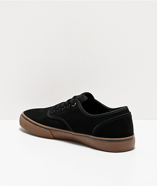 Emerica Wino Standard Black & Gum Skate Shoes