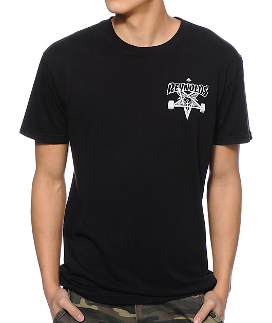 Emerica x Thrasher Reynolds Black T-Shirt