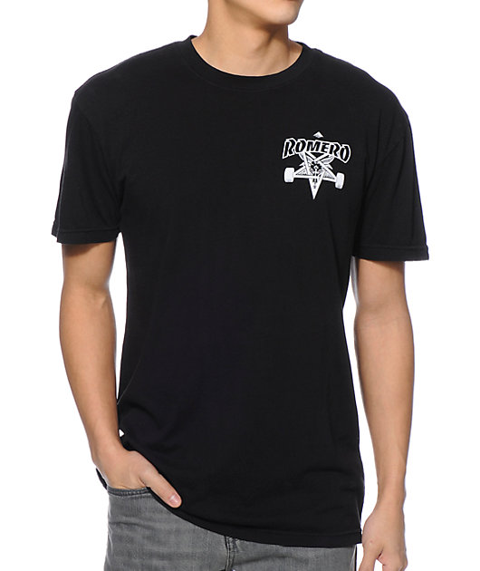 Emerica x Thrasher Romero Black T-Shirt