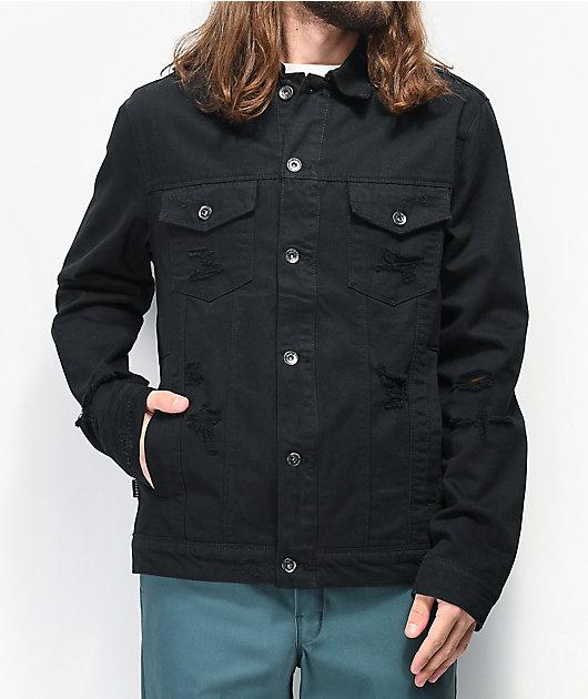 Empyre Ace chaqueta de mezclilla negra