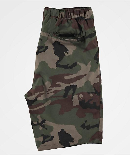 Empyre Adder Camo Board Shorts