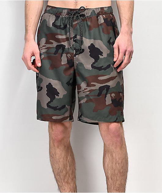 Empyre Adder shorts de baño de camuflaje