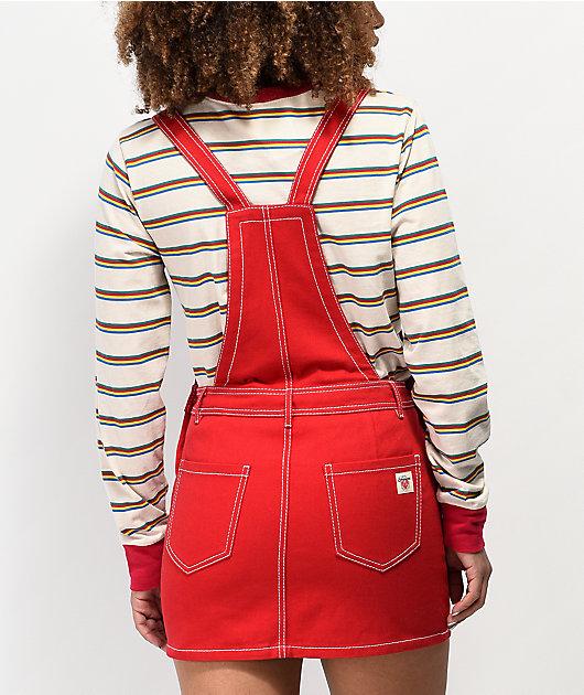 Empyre Allysha Red Overall Dress
