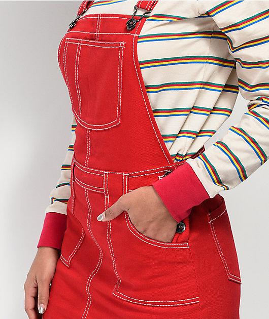 Empyre Allysha vestido rojo estilo peto