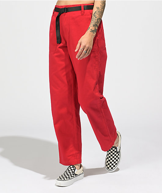 Empyre Anoki Red Carpenter Pants