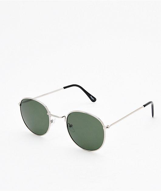 Empyre Artie gafas de sol en verde y plata