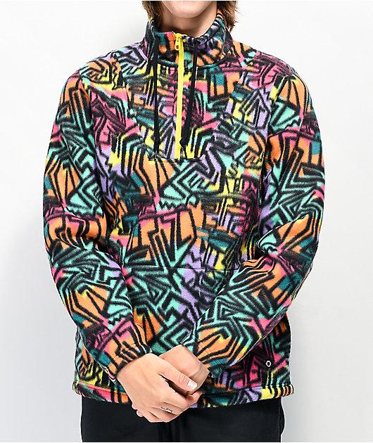 Empyre Aspen chaqueta de polar técnico multicolor