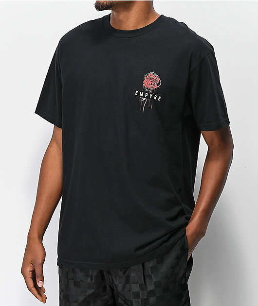 Empyre Barbed camiseta negra