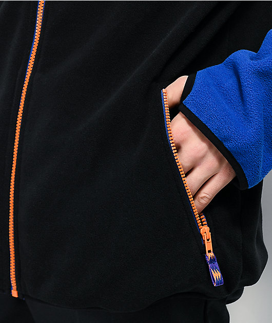 Empyre Blocker Blue, Black & Purple Tech Fleece Jacket